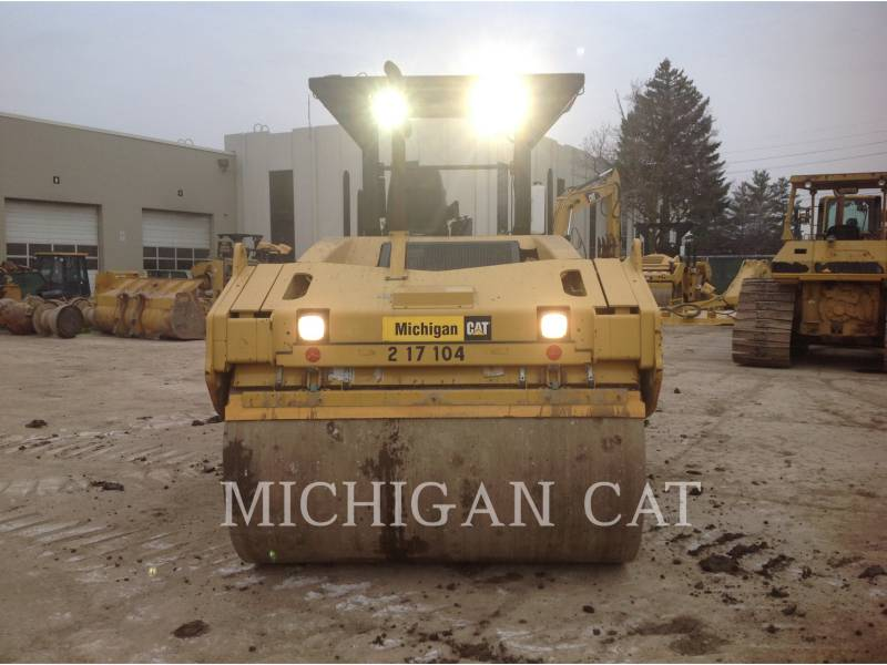 CATERPILLAR VIBRATORY DOUBLE DRUM ASPHALT CB-564D equipment  photo 7