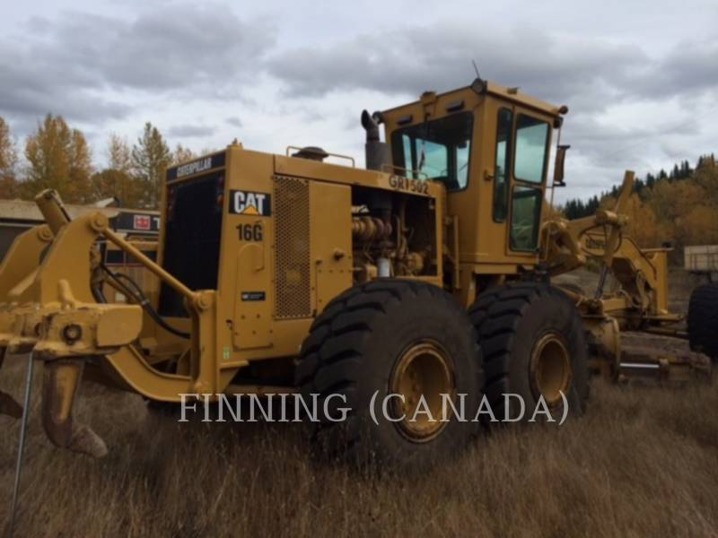 CATERPILLAR MOTOR GRADERS 16G equipment  photo 3