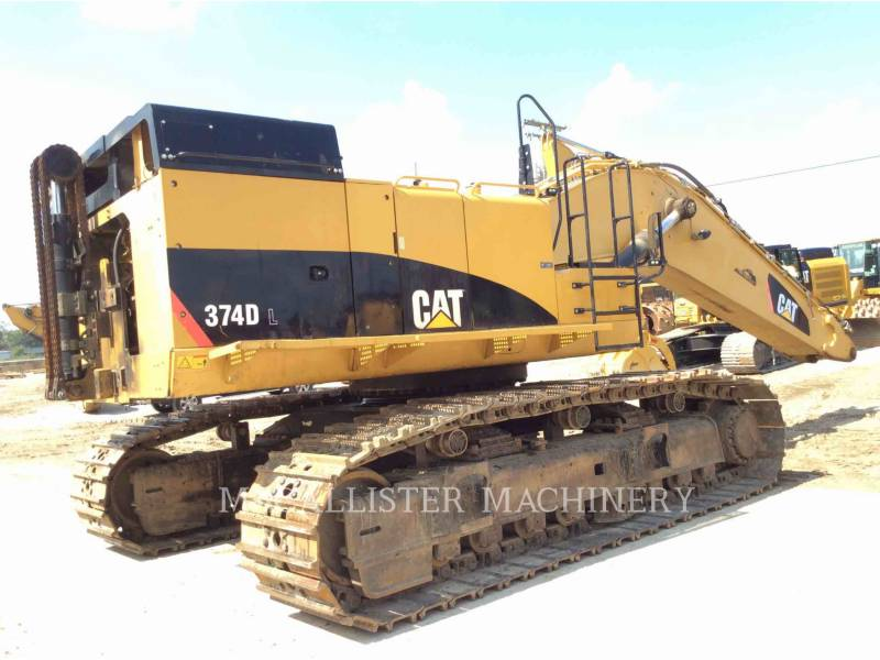 CATERPILLAR TRACK EXCAVATORS 374DL equipment  photo 2