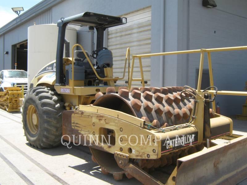CATERPILLAR VIBRATORY SINGLE DRUM PAD CP-563E equipment  photo 1