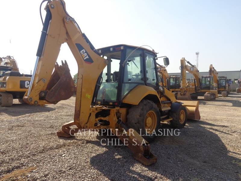 CATERPILLAR CHARGEUSES-PELLETEUSES 416 F 2 equipment  photo 5