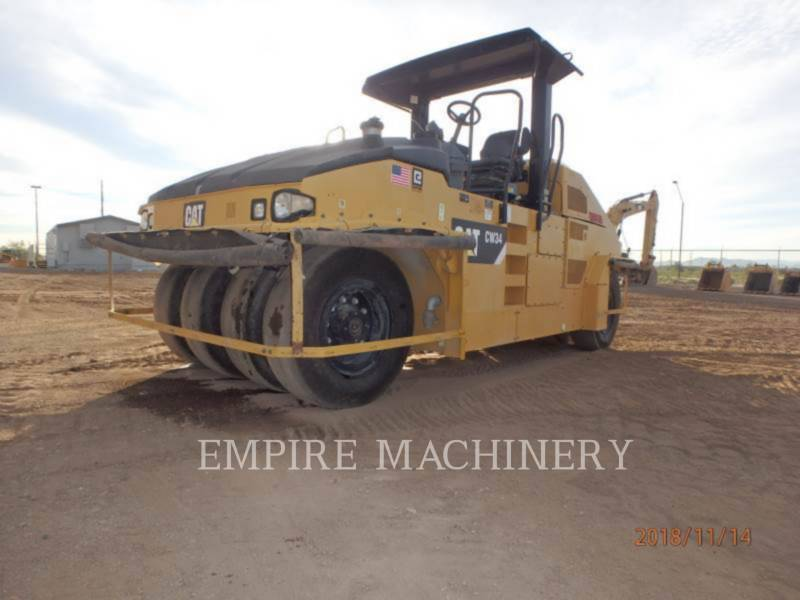 CATERPILLAR PNEUMATIC TIRED COMPACTORS CW34 equipment  photo 4