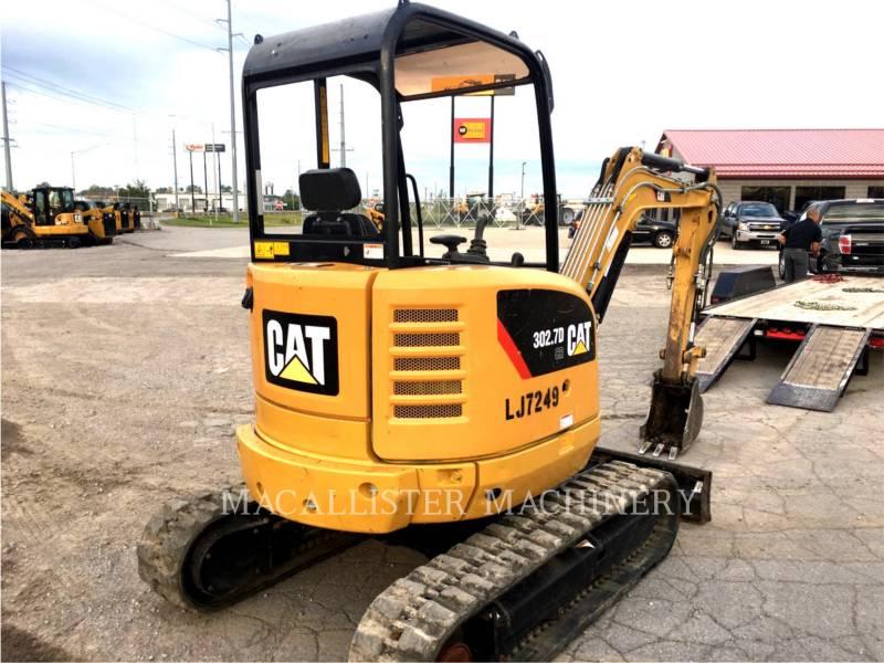 Caterpillar EXCAVATOARE PE ŞENILE 302.7DCR equipment  photo 3