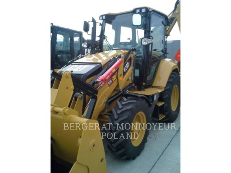 CATERPILLAR BACKHOE LOADERS 428 F 2 equipment  photo 8