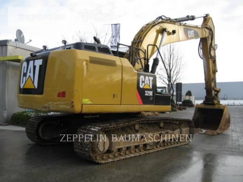CATERPILLAR KETTEN-HYDRAULIKBAGGER 329ELN equipment  photo 1