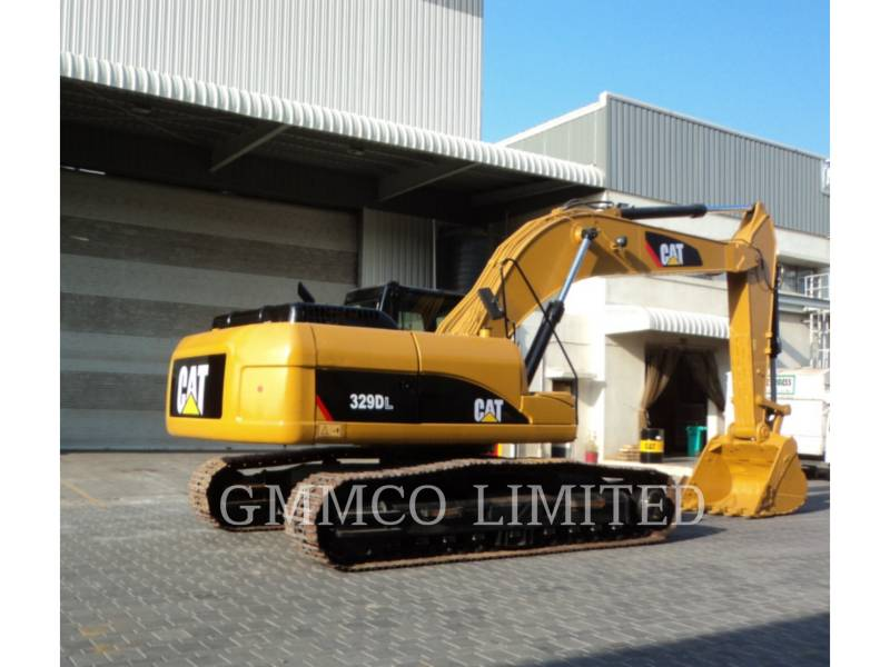 CATERPILLAR TRACK EXCAVATORS 329D equipment  photo 5