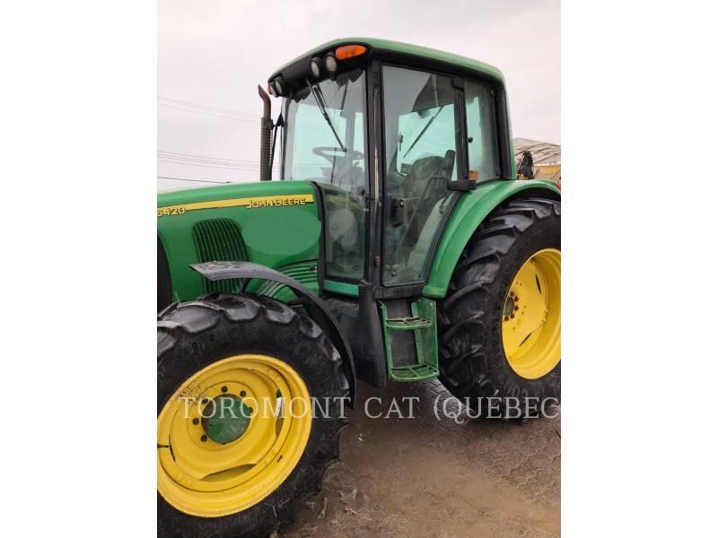 JOHN DEERE TRACTEURS AGRICOLES 6420 equipment  photo 1