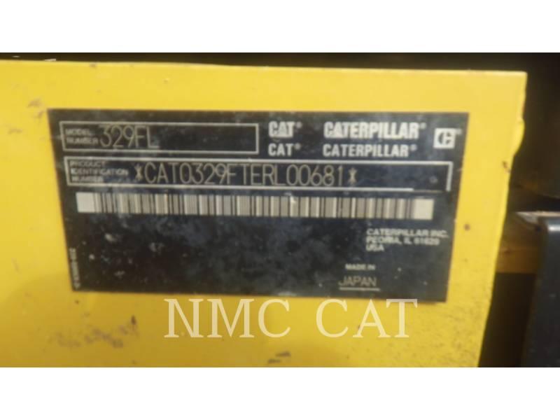 CATERPILLAR TRACK EXCAVATORS 329FL equipment  photo 6