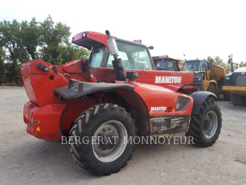 MANITOU BF S.A. TELEHANDLER MLT845-120 equipment  photo 4