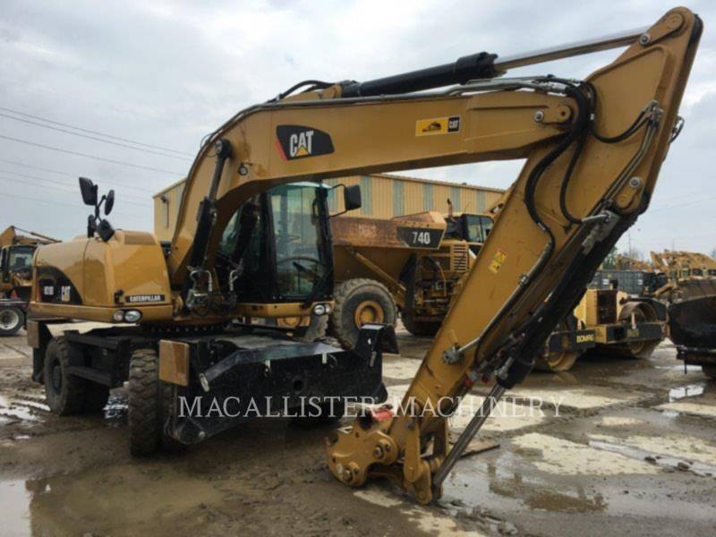 CATERPILLAR ESCAVADEIRAS DE RODAS M318D equipment  photo 2