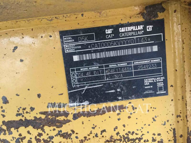CATERPILLAR TRACTORES DE CADENAS D5KLGP equipment  photo 20