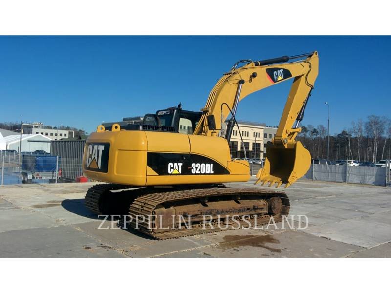 CATERPILLAR RUPSGRAAFMACHINES 320DL equipment  photo 5