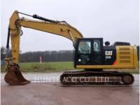 Equipment photo CATERPILLAR 323EL トラック油圧ショベル 1