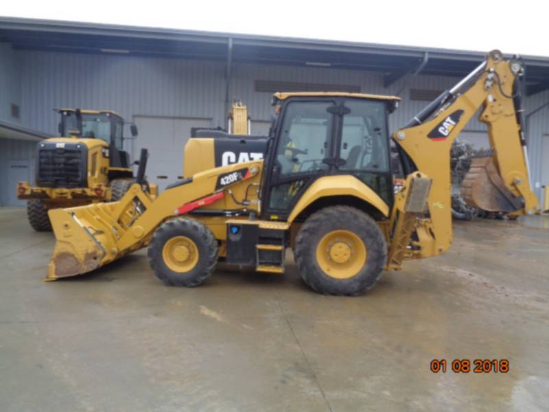 CATERPILLAR BAGGERLADER 420F2ST equipment  photo 13