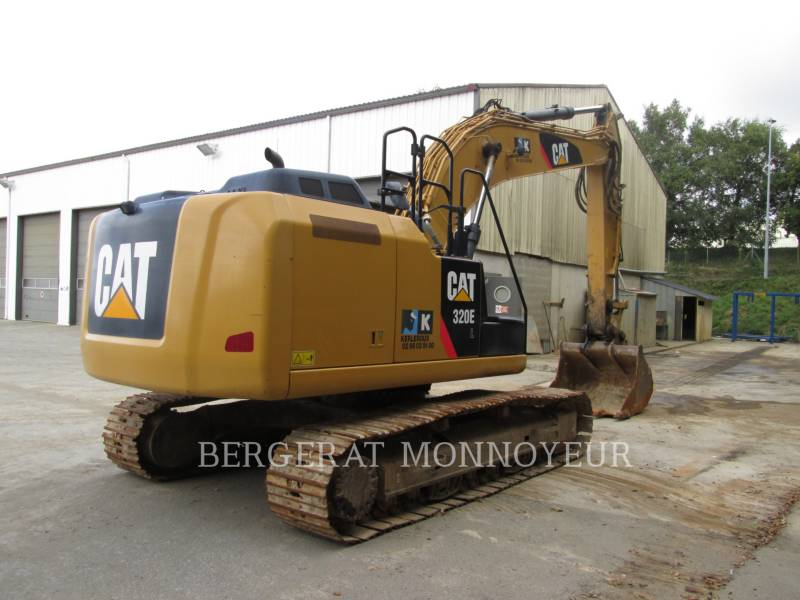 CATERPILLAR TRACK EXCAVATORS 320E equipment  photo 6