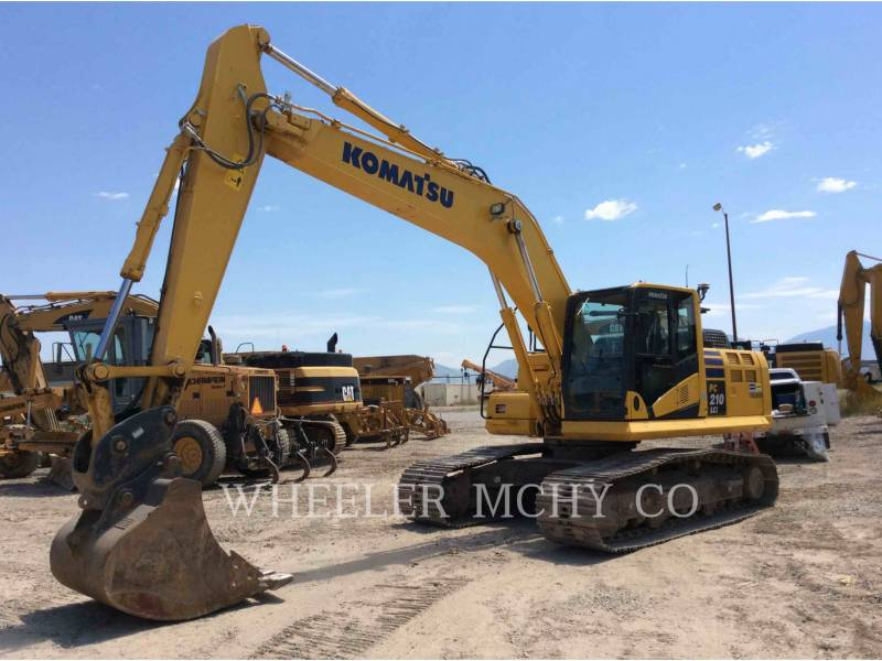 KOMATSU PELLES SUR CHAINES PC210LC1 equipment  photo 6
