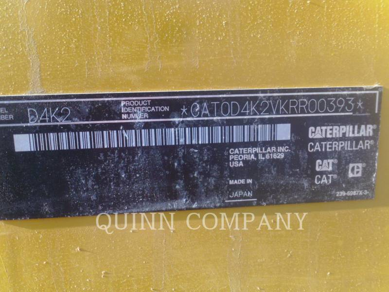 CATERPILLAR TRACTORES DE CADENAS D4K2 LGP equipment  photo 13