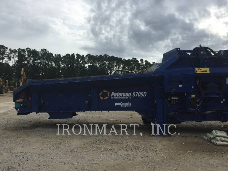 PETERSON CHIPPER, HORIZONTAL 6700D equipment  photo 6