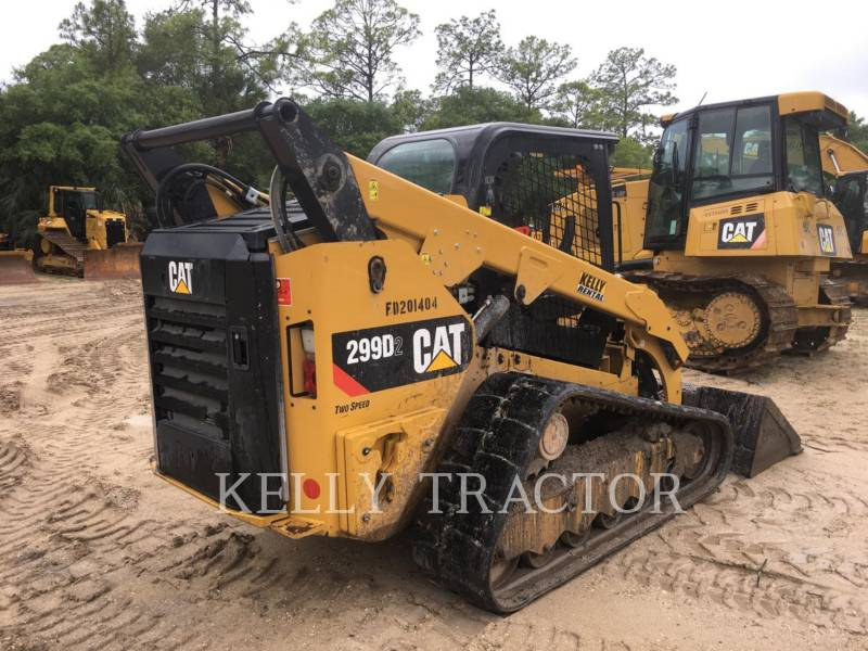 CATERPILLAR CARGADORES MULTITERRENO 299D2 equipment  photo 6