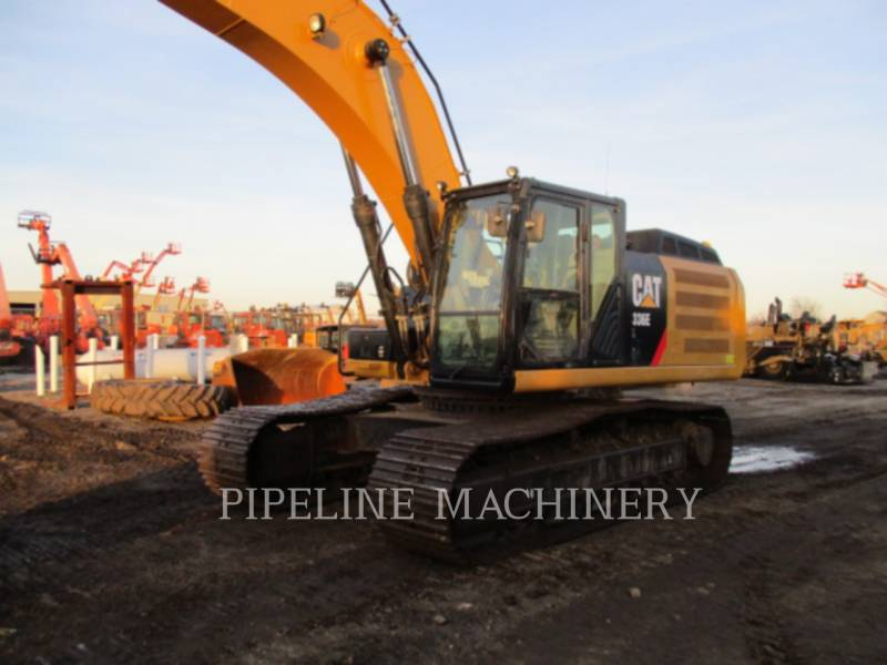 CATERPILLAR KETTEN-HYDRAULIKBAGGER 336EL equipment  photo 4
