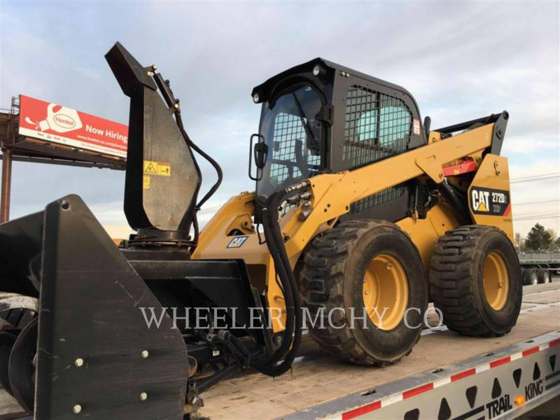CATERPILLAR SKID STEER LOADERS 272D2 C3H2 equipment  photo 4