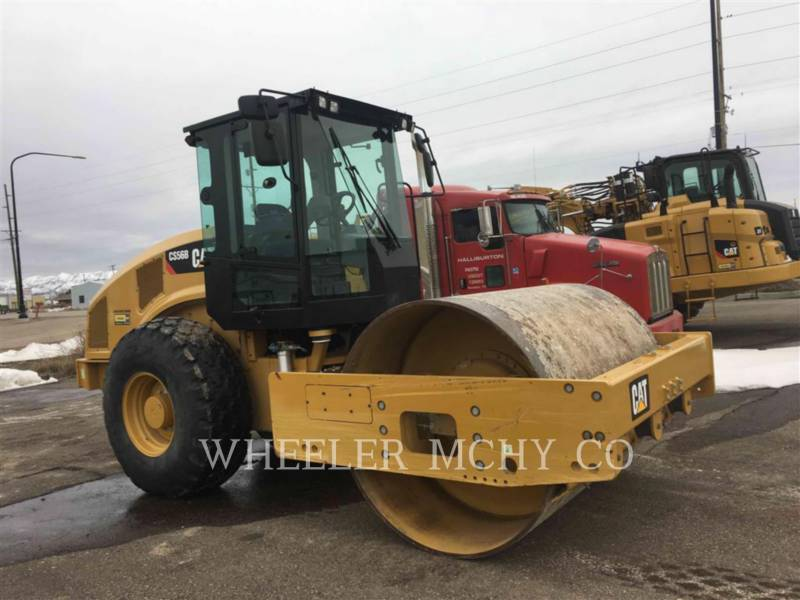 CATERPILLAR COMPACTEUR VIBRANT, MONOCYLINDRE LISSE CS56B equipment  photo 3