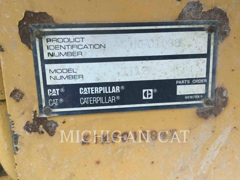 CATERPILLAR WHEEL LOADERS/INTEGRATED TOOLCARRIERS IT12F equipment  photo 14