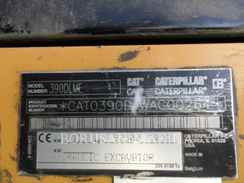 CATERPILLAR TRACK EXCAVATORS 390DL equipment  photo 8