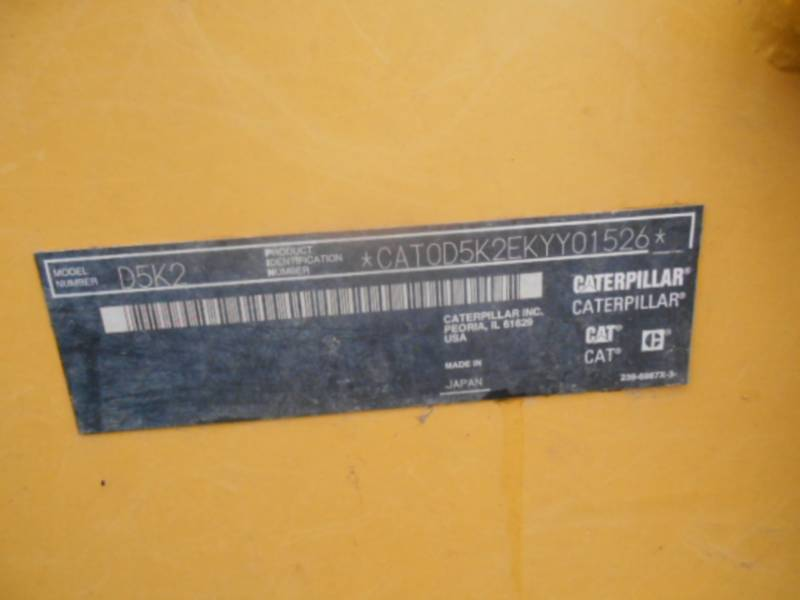 CATERPILLAR TRACK TYPE TRACTORS D5K2LGP equipment  photo 19