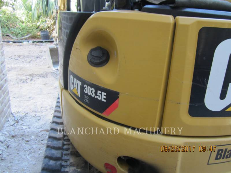 CATERPILLAR TRACK EXCAVATORS 303.5E SO equipment  photo 5