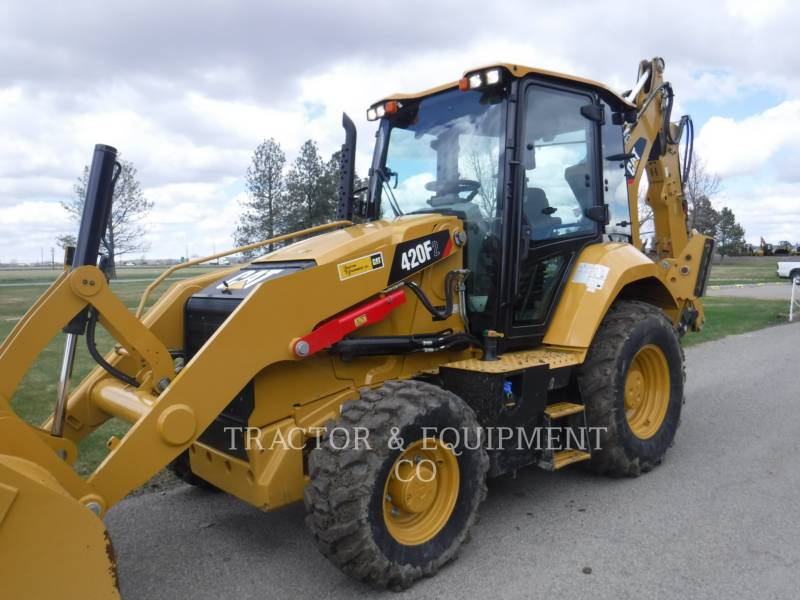 CATERPILLAR RETROESCAVADEIRAS 420F2 4ECB equipment  photo 1