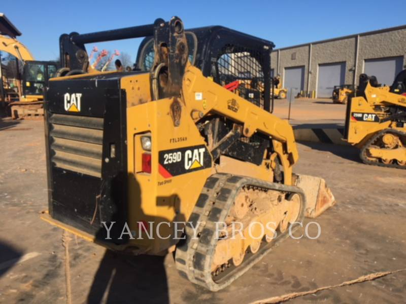 CATERPILLAR CHARGEURS COMPACTS RIGIDES 259D PDC equipment  photo 3