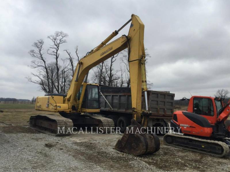 KOMATSU KETTEN-HYDRAULIKBAGGER PC220LC equipment  photo 1