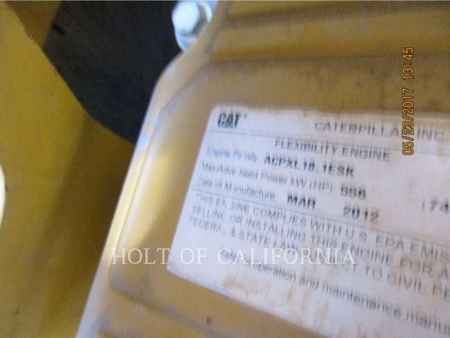 Detail photo of 2012 Caterpillar D9T from Construction Equipment Guide