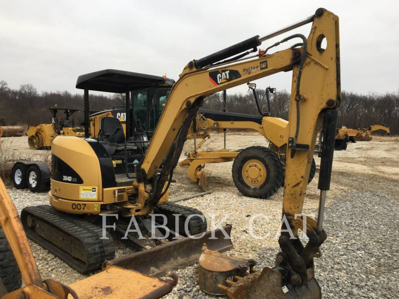 CATERPILLAR TRACK EXCAVATORS 304D equipment  photo 1