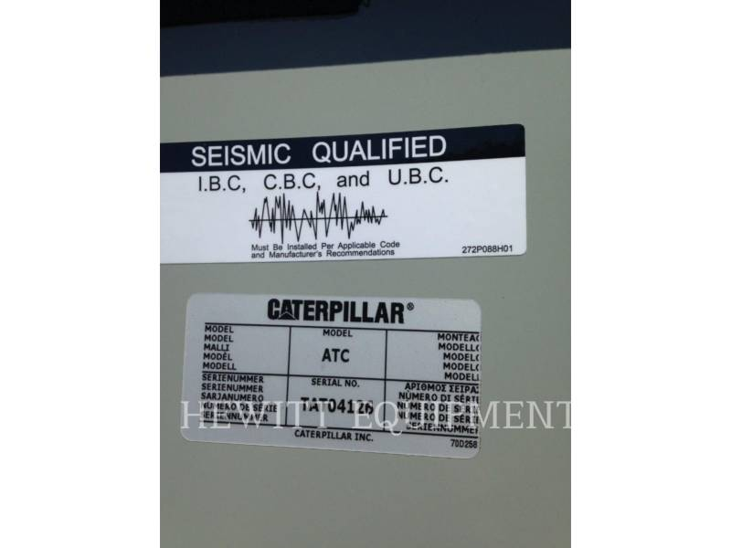 CATERPILLAR SYSTEMS COMPONENTS TRANSFER SW CAT ATC 600A 480V equipment  photo 9