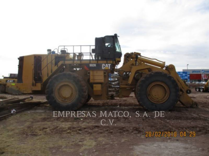 CATERPILLAR PALE GOMMATE/PALE GOMMATE MULTIUSO 992KLRC equipment  photo 4
