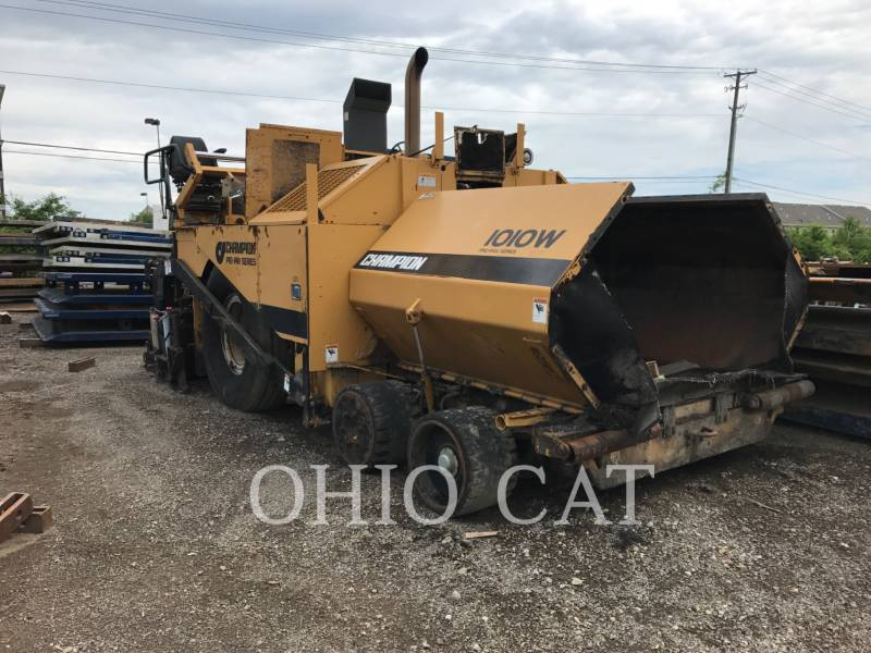 CHAMPION ASPHALT DISTRIBUTORS 1010W equipment  photo 1
