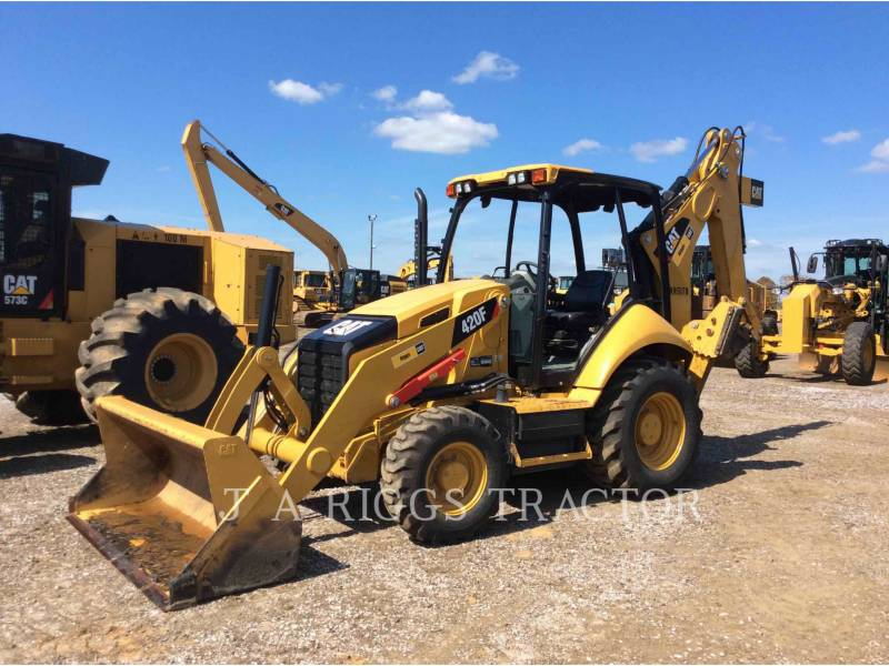 CATERPILLAR CHARGEUSES-PELLETEUSES 420F 4 equipment  photo 1
