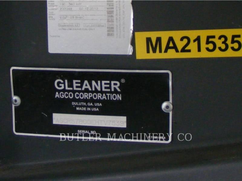 GLEANER COMBINES S78 equipment  photo 15