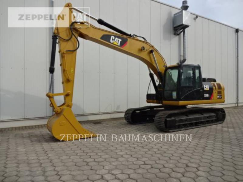 CATERPILLAR KETTEN-HYDRAULIKBAGGER 320D2L equipment  photo 1
