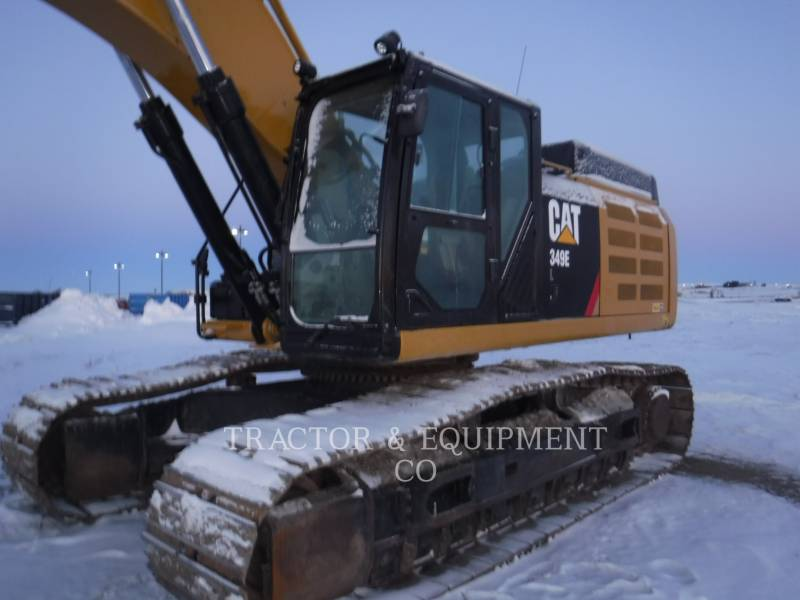 CATERPILLAR TRACK EXCAVATORS 349E L equipment  photo 1