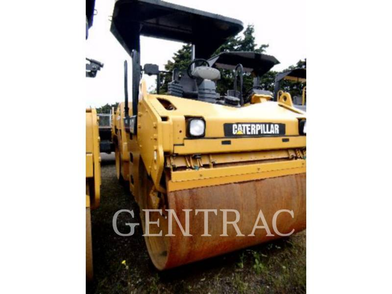 CATERPILLAR ROLO COMPACTADOR DE ASFALTO DUPLO TANDEM CB-534D equipment  photo 4