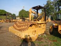 CATERPILLAR VIBRATORY SINGLE DRUM PAD CP-533E equipment  photo 2