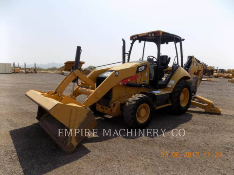 CATERPILLAR バックホーローダ 420F 4EO P equipment  photo 4