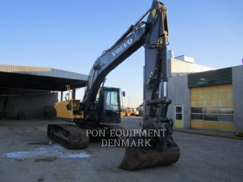 VOLVO CONSTRUCTION EQUIPMENT TRACK EXCAVATORS EC210CL equipment  photo 9