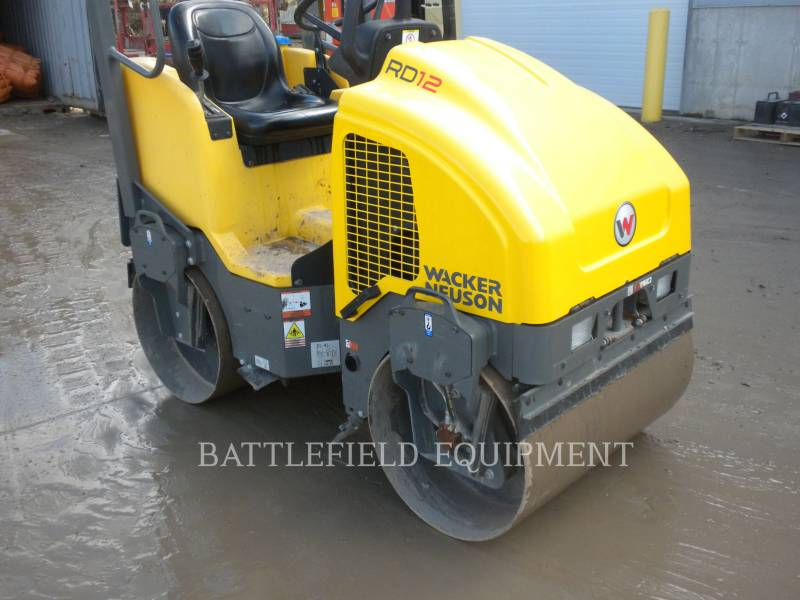 WACKER CORPORATION COMPACTEURS TANDEMS VIBRANTS RD12A equipment  photo 5