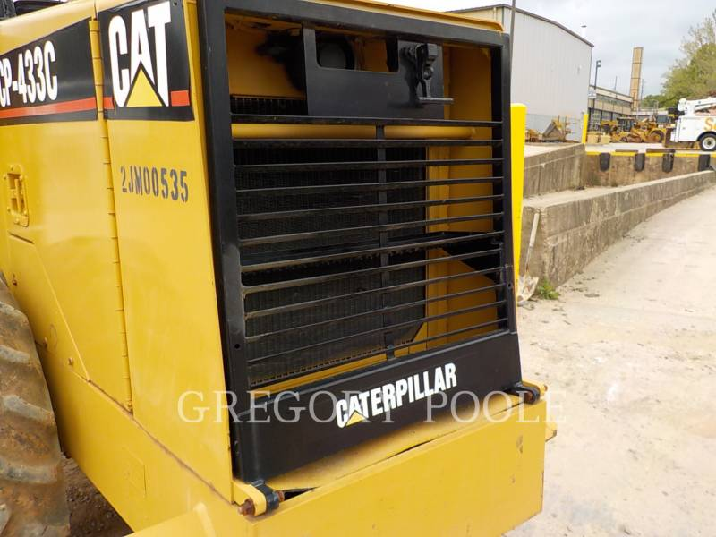 CATERPILLAR SOPORTE DE TAMBOR ÚNICO VIBRATORIO CP-433C equipment  photo 13