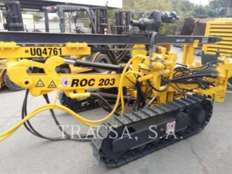 ATLAS-COPCO FOREUSES ROC203 equipment  photo 1