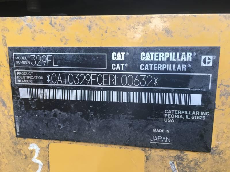CATERPILLAR EXCAVADORAS DE CADENAS 329FL equipment  photo 22